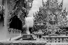 Wat Rong Khun - templo branco 20 Fotos de Stock
