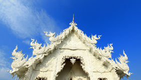 Wat Rong Khun Thai Stock Photos