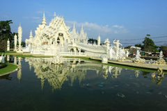 Wat Rong Khun Thai Stock Photo