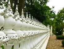 Wat Rong Khun Thai art. Stock Photo