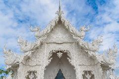 Wat Rong Khun Thai temple. The White temple in Chiang Rai, Thailand Royalty Free Stock Photo