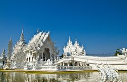 Wat Rong Khun in Thailand Royalty Free Stock Photography