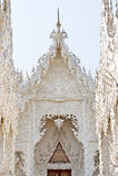 Wat Rong Khun, Thailand Stock Fotografie