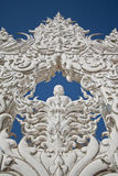Wat rong khun in thailand. This picture is mean buddha Royalty Free Stock Images