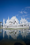 Wat rong khun in thailand.  Royalty Free Stock Image