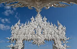Wat rong khun in thailand.  Stock Photography