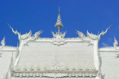 Wat Rong Khun Thailand Stock Photo