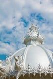 Wat Rong-Khun, Thailand. royaltyfria bilder