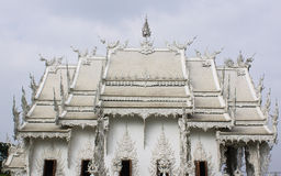 Wat Rong Khun, Thailand White Temple Chiang Rai Province Royalty Free Stock Photography