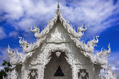 Wat Rong Khun, Top Of Temple. Stock Photography