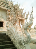 Wat Rong Khun/vit tempel Royaltyfri Foto