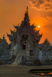 Wat Rong Khun White Temple Royalty Free Stock Photos
