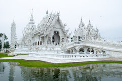 Wat Rong Khun. The White Temple, Chaing Rai, Thailand Royalty Free Stock Photo
