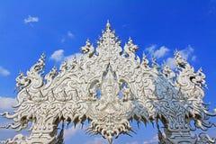 Wat Rong Khun White Temple, Chiang Rai, Thailand lizenzfreie stockbilder