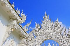 Wat Rong Khun White Temple, Chiang Rai, Thailand stockfotografie