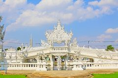 Wat Rong Khun White Temple, Chiang Rai, Thailand stockfotos