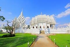 Wat Rong Khun White Temple, Chiang Rai, Thailand lizenzfreie stockfotos