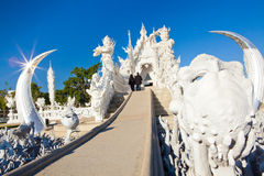 Wat Rong Khun. White Temple - Chiang Rai, Thailand royalty free stock photography