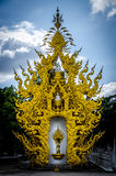 Wat Rong Khun White temple , Chiang Rai, Thailand Royalty Free Stock Images