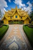 Wat Rong Khun White temple , Chiang Rai, Thailand Royalty Free Stock Image