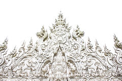 Wat Rong Khun (The White Temple) in Chiang Rai, Thailand Royalty Free Stock Image