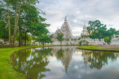 Wat Rong Khun. White Temple in Thailand, Temple in Thailand, White Temple in Chiang Rai, Thailand, hand hell wat rong khun Royalty Free Stock Images