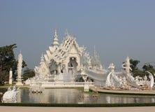 Wat Rong Khun of Witte Tempel, een eigentijdse unco Stock Foto's