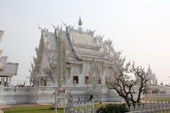 Wat Rong Khun of Witte Tempel, een eigentijdse unco Stock Afbeelding