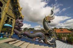 Wat Rong Sua 10 Стоковое фото RF
