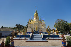 Wat Rong Sua Dziesięć Obrazy Stock