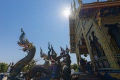 Wat Rong Sua Dziesięć Zdjęcie Stock