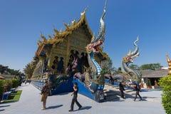 Wat Rong Sua Dziesięć Fotografia Royalty Free