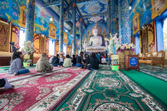 Wat Rong Sua Ten Photo libre de droits