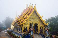Wat Rong Sua Ten, Chiang Rai Royalty Free Stock Photo