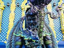 Wat Rong Sua Ten in Chiang Rai lizenzfreies stockbild