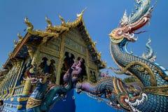 Wat Rong Sua Ten dedans Image stock