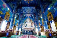 Wat Rong Suaten ist der allgemeine Tempel Lizenzfreie Stockbilder