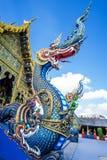 Wat Rong Suaten ist der allgemeine Tempel Stockfotos