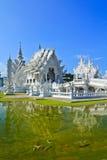 Wat Rong w Chiangrai prowinci Khun, Tajlandia Zdjęcia Stock