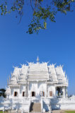 Wat RongKhun. The white temple , Wat Rongkhun - Thailand stock image