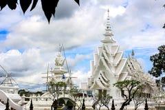 Wat Rongkhun at Chiangrai Royalty Free Stock Photos