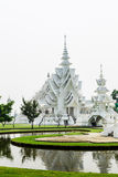 Wat rongkhun in chiangrai province. Wat rongkhun, thai white temple in chiangrai province Thailand Royalty Free Stock Photography