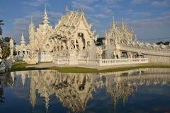 Wat rongkhun Thailand. Stock Photos