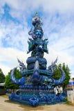 Wat Rongsuaten在Changrai泰国 图库摄影