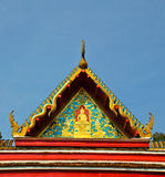 Wat roof Royalty Free Stock Photo