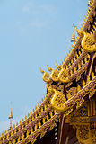 Wat Roof Detail, Chiang Mai, Thailand Stock Images