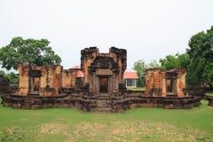 Wat sa kam phaeng yai castle. Uthumphon Phisai, Sisaket Province stock photo