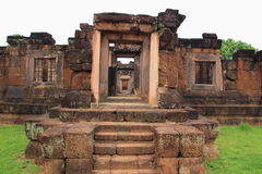 Wat sa kam phaeng yai castle. Uthumphon Phisai, Sisaket Province stock images