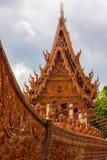 Wat Sa Prasan Suk-tempel Stock Afbeelding