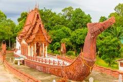 Wat Sa Prasan Suk temple. The ship building's unique Wat Sa Prasan Suk temple at Ubon Ratchathani, Thailand Stock Photography